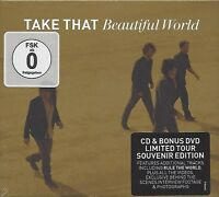 TAKE THAT / BEAUTIFUL WORLD - LIMITED TOUR SOUVENIR EDITION * NEW CD+DVD * NEU *
