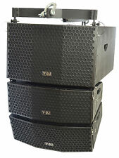 Y-DJ Flying Line Array Subwoofer, Speakers and T Flying Mounting Frame Kit