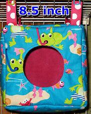Custom Fleece-lined Hanging Cube Ferret Hamster Rat  Mice Sugar Glider etc