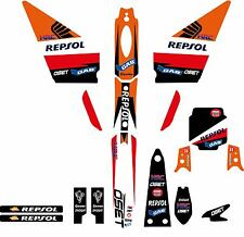 OSET 12.5 TRIALS BIKE GRAPHIC KIT-STICKER KIT-DECALS-REP KIT-OSET