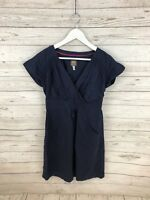 JOULES Dress - Size UK12 - Navy - Great Condition - Women's