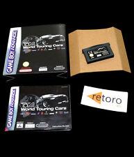 TOCA WORLD TOURING CARS Pal-España Nintendo GBA Game Boy Advance