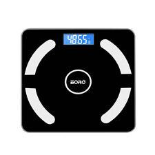 Bluetooth Personenwage APP Körperwaage Fitnesswaage Gewicht BMI Analyse 180kg DE