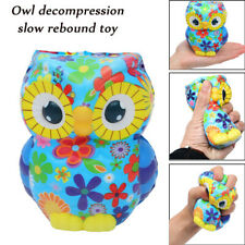 Adorable Owl Squeeze Slow Rising Cartoon Doll Cream Scented Stress Reliever Toy