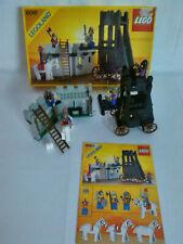 Lego 6061 Siege Tower Belagerungsturm mit OVP Karton box 100% komplett Ritter