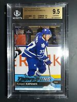 2016-17 Upper Deck Kasperi Kapanen Young Guns Rookie BGS 9.5