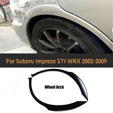 Rear Wide Wheel Arch Fender Flare Lips Fit for Subaru Impreza WRX STI 2002-2009