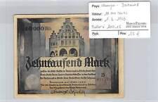 BILLET ALLEMAGNE DORTMUND - 10.000 MARKS -  1-2-1923