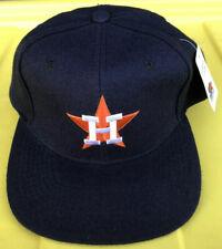 NWT Vintage 90s Houston Astros Starter 100% Wool SnapBack Hat Cap Plain Logo