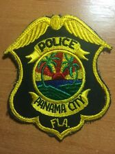 PATCH POLICE PANAMA CITY - FL FLA FLORIDA