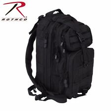 Black Tactical Convertible Medium Transport Pack Travel Backpack Rothco 22987