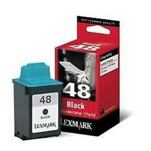 Original Lexmark 48 Schwarz Patrone Passt Gleichen As Nr. 50