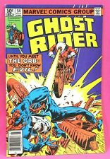Ghost Rider #54 Meet the Orb Know Evil UPC Newsstand 1981 Marvel Comics VG/VG+