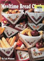 Mealtime Bread Cloths in Counted Cross Stitch 1995 Leisure Arts 2734