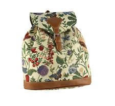 Signare Tapestry Backpack Morning Garden Design Rucksack Bag Floral Flowers