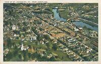 ST. JOHNSBURY VT – St. Johnsbury Aeroplane View - 1926