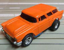 für Slotcar Racing Modellbahn --   seltener ´57er Chevy Nomad mit AFX Motor