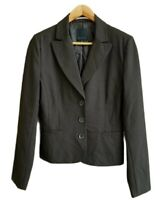 The Limited Womens Black Lined Jacket Blazer Career Work Business Size 8