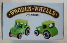 Wooden Wheels Natural Beech Wood Tractor Kids Toy by Imagination Generation -G9