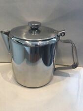STAINLESS STEEL COFFEE TEA POT RESTAURANT QUALITY 48 oz (1.5)LTR