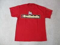 Jose Fernandez Miami Marlins Shirt Adult Large Red Black MLB Baseball Cuba Men A
