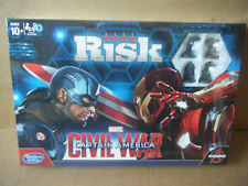 """RISK, MARVEL CIVIL WAR, CAPTAIN AMERICA"" Hasbro Gaming 2015. New and Sealed."