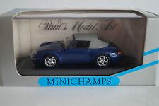 Minichamps voiture miniature 1:43 porsche 911 CABRIOLET 1994 Nº 430063041