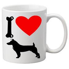I Love Jack Russell Dogs on a Quality Mug. Great Novelty 11oz Mug.