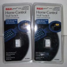 RCA Home Control Wall Switch (2 Packs) HC30WD Single Pole White X-10
