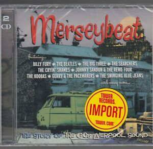 MERSEYBEAT THE STORY OF 60S LIVERPOOL SOUND - 2 CD SET BEATLES KOOBAS SEARCHERS