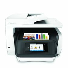 HP OfficeJet Pro 8720 Wireless 4-Color Ink All-in-One Photo Printer, in White