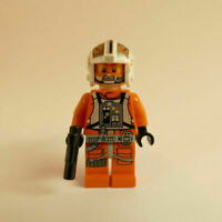 Genuine Lego Star Wars Theron Nett ( Red Ten ) X Wing Pilot Mini Figure 75032