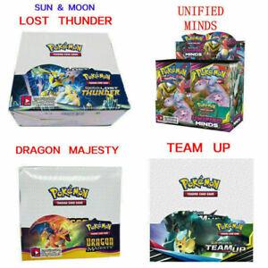 324pcs Pokemon Cards Bundle TCG Booster Box English Edition Break Point 36 Pack8