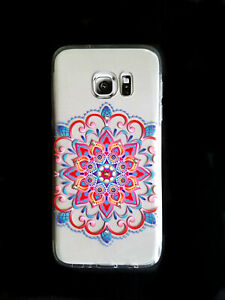 Protective Slim High Quality Crystals Mandala Series Case for Samsung Galaxy S7
