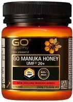 Go Healthy Manuka Honey UMF 20+ (MGO 820+) 250g from New Zealand