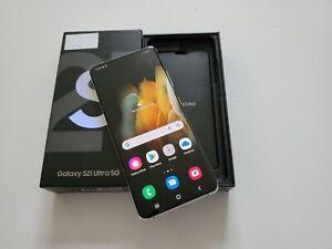 Samsung Galaxy S21 Ultra 5G - 256GB - Duos - Phantom Silver - Unlocked (VATINC)