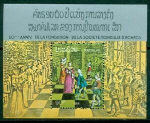 Laos Scott #545 MNH S/S World Chess Federation CV$3+