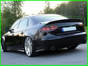 AUDI A4 B8 SALON REAR/BOOT SPOILER (2008-2012)