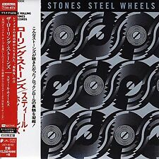 THE ROLLING STONES - Steel Wheels - Japan Platinum SHM Mini LP - CD UICY-40162