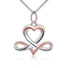 Sterling Silver Libra Constellation Good Luck Irish Celtic Knot Infinity Hear...