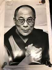 "Authentic Original Apple think different poster ""Dalai Lama""24x36"" I mac"