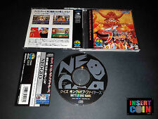 JUEGO NEO GEO CD QUIZ KING OF FIGHTER   SNK NEO GEO AES