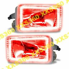 "ORACLE Halo FOGLIGHTS Chevrolet Silverado 07-15 RED LED ""Square Style"""