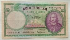 More details for portugal banknote: 20 escudos, 1941