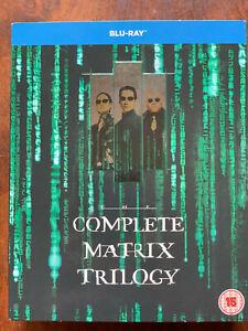 The Matrix Trilogy TRILOGY Blu-ray Set Classic Sci-Fi Movie Triple Bill