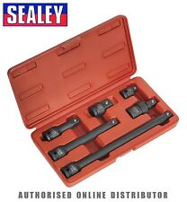 Sealey impacto Adaptadores & Extensiones Barra Set 6pc 1.3cmsq DRIVE ak5514