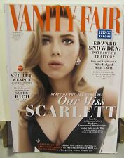 VANITY FAIR MAGAZINE may 2014 Scarlett Johansson sexy cleavage