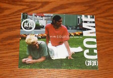 Gusgus It's the Sound that Makes me Come Postcard Promo 6x4