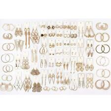 40 Pairs High End Hoop Only Earrings Wholesale Jewelry Lot FREE Shipping