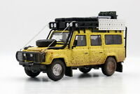 1/64 Scale Land Rover Defender 110 Camel Trophy Muddy Diecast Car Toy Gift